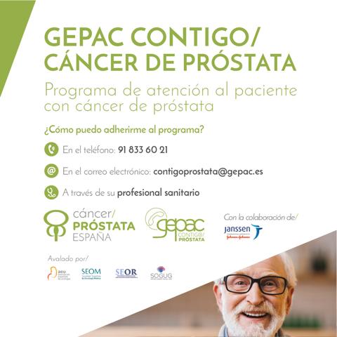GEPAC Contigo: Cáncer de Próstata